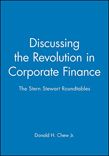 9780631209904: Discussing the Revolution in Corporate Finance: The Stern Stewart Roundtables