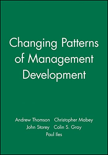 9780631209980: Changing Patterns of Management Development (Management, Organizations and Business)