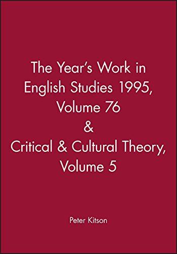 The Years Work 1995 (Years Work in English Studies)