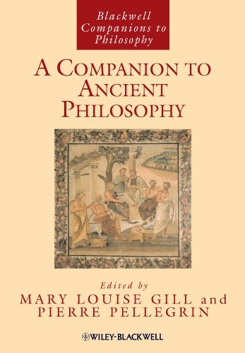 9780631210610: A Companion to Ancient Philosophy