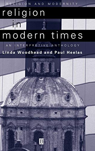 9780631210733: Religion in Modern Times: An Interpretive Anthology