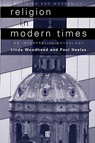 9780631210740: Religion in Modern Times: An Interpretive Anthology