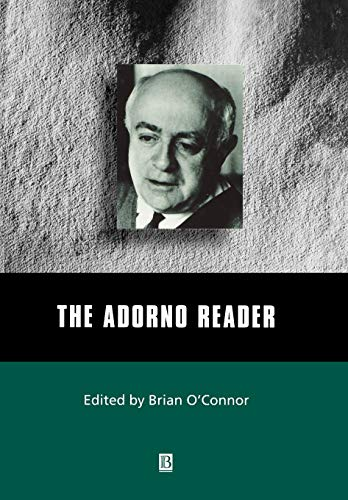 9780631210764: The Adorno Reader (Wiley Blackwell Readers)