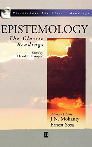 9780631210870: Epistemology: The Classic Readings (Philosophy: The Classic Readings)