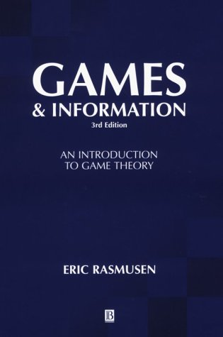 9780631210955: Games and Information: An Introduction to Game Theory