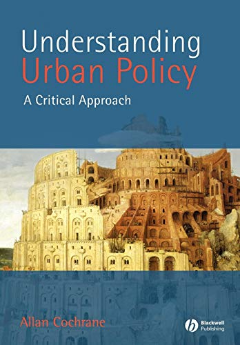 9780631211211: Understanding Urban Policy: A Critical Approach