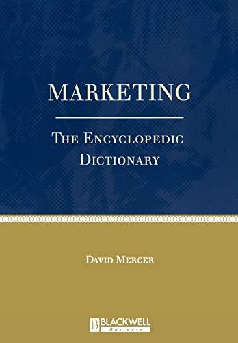 9780631211266: Marketing: The Enyclopedic Dictionary