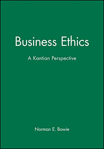 9780631211747: Business Ethics: A Kantian Perspective
