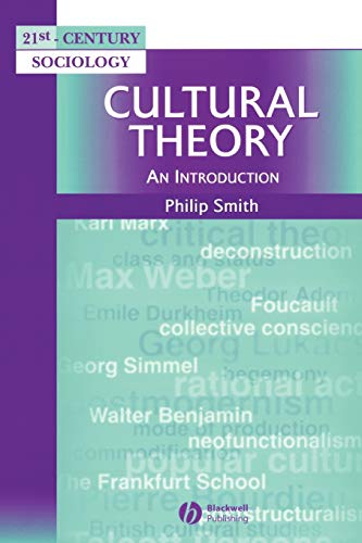 9780631211761: Cultural Theory: An Introduction (21st Century Sociology)