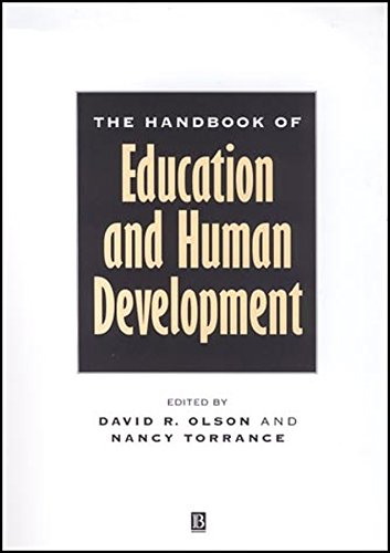 9780631211860: The Handbook of Education and Human Development: New Models of Learning, Teaching and Schooling