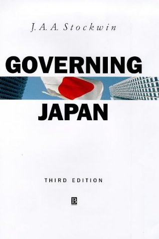 9780631212126: Governing Japan: Divided Politics in a Major Economy (Modern Governments)