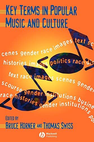 9780631212645: Key Terms in Popular Music and Culture (Blackwell Guides)