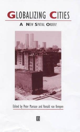 9780631212898: Globalizing Cities (Studies in Urban and Social Change)