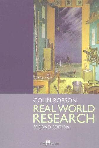 9780631213055: Real World Research: A Resource for Social Scientists and Practitioner-researchers