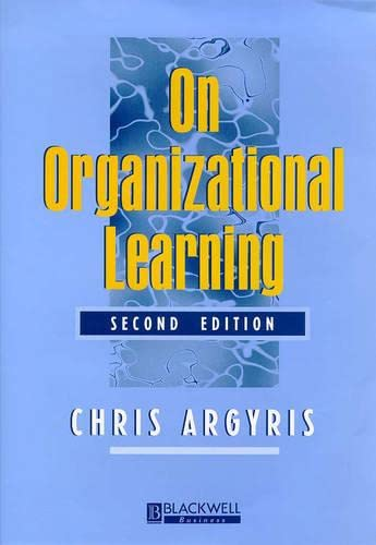 9780631213086: On Organizational Learning