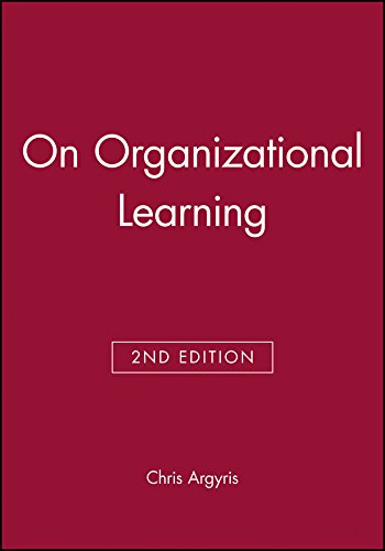 9780631213093: On Organizational Learning