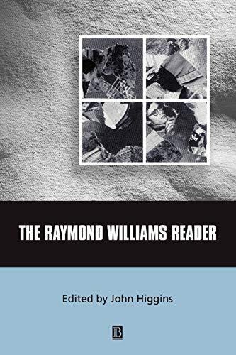 9780631213116: The Raymond Williams Reader