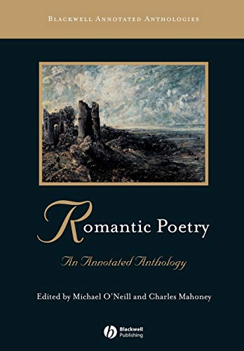 9780631213178: Romantic Poetry: An Annotated Anthology