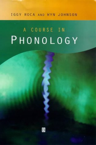 9780631213451: A Course in Phonology