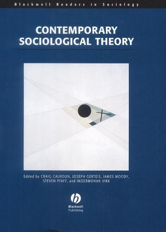 9780631213499: Contemporary Sociological Theory (Wiley Blackwell Readers in Sociology)