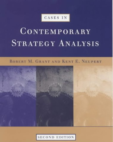 9780631213598: Cases in Contemporary Strategy Analysis