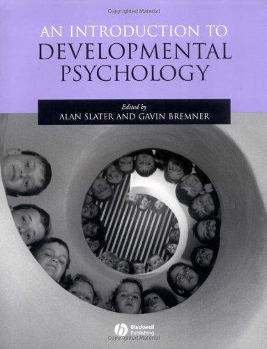 9780631213963: An Introduction to Developmental Psychology