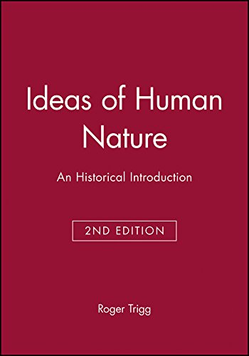 9780631214052: Ideas of Human Nature: An Historical Introduction
