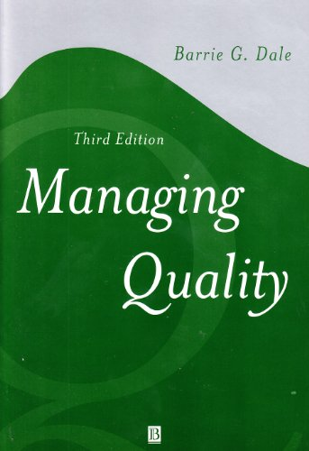 Managing Quality (Blackwell Business): Wiley-Blackwell
