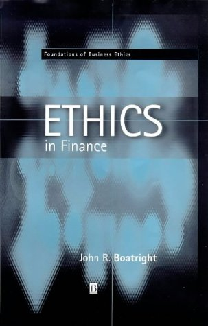 9780631214267: Finance Ethics: Critical Issues in Theory and Practice (Fundations of Business Ethics, 1)