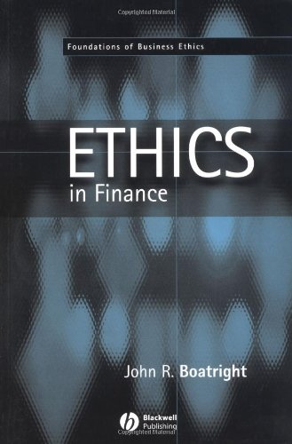 9780631214274: Finance Ethics: Critical Issues in Theory and Practice (Foundations of Business Ethics)