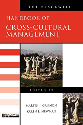 the blackwell handbook of cross cultural management