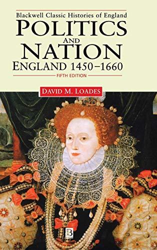 9780631214595: Politics and Nation England 1450-1660: England, 1450-1660