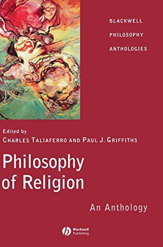 9780631214700: Philosophy of Religion: An Anthology (Blackwell Philosophy Anthologies)