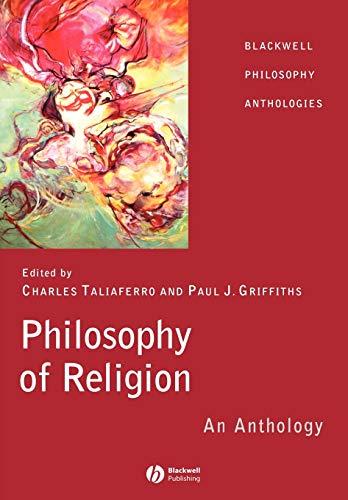 9780631214717: Philosophy of Religion: An Anthology (Blackwell Philosophy Anthologies)