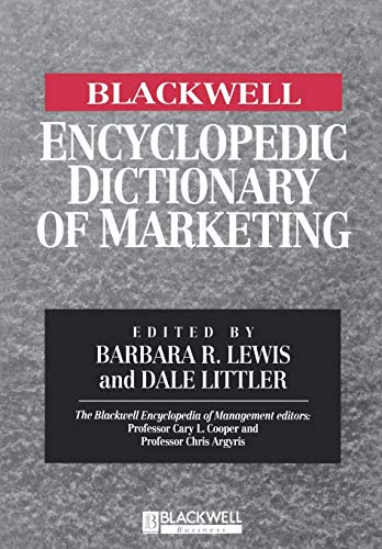 9780631214854: The Blackwell Encyclopedia of Management and Encyclopedic Dictionaries, The Blackwell Encyclopedic Dictionary of Marketing