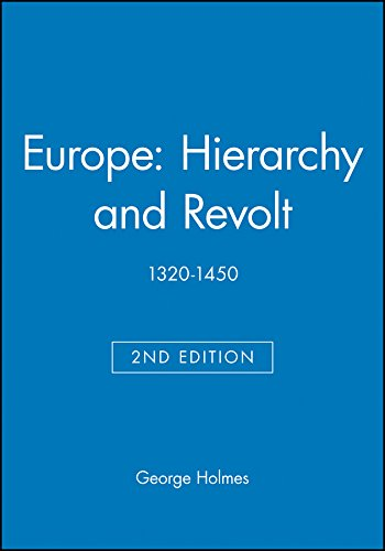 9780631215004: Europe: Hierarchy and Revolt, 1320-1450 (Blackwell Classic Histories of Europe)