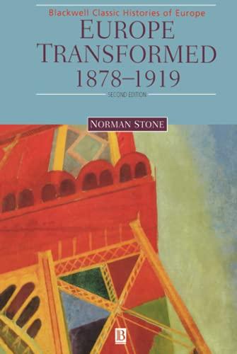 9780631215073: Europe Transformed: 1878-1919