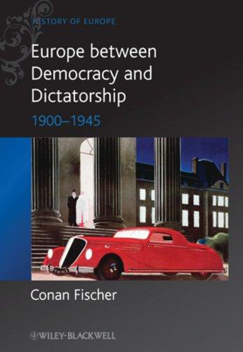 9780631215110: Europe between Democracy and Dictatorship: 1900 - 1945