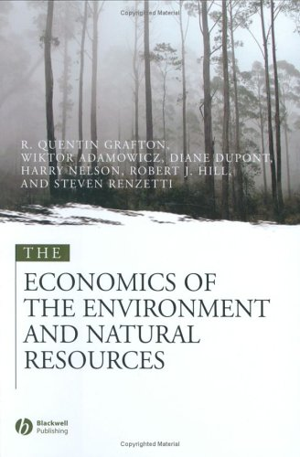 9780631215639: The Economics of the Environment and Natural Resources