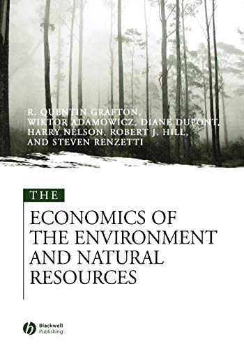 9780631215646: The Economics of the Environment and Natural Resources