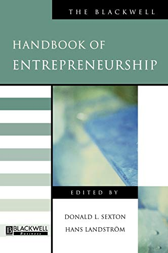 9780631215738: HNDBK OF ENTRPRENEURSHIP (Blackwell Handbooks in Management)