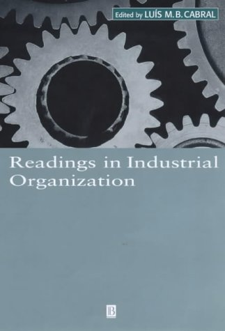 9780631216162: Readings in Industrial Organization (Wiley Blackwell Readings for Contemporary Economics)