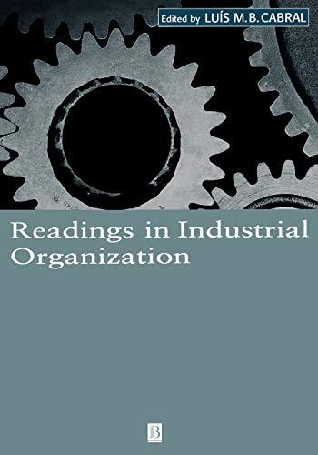 9780631216179: Readings in Industrial Organization