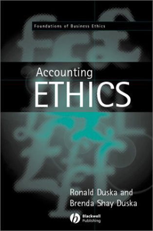 9780631216506: Accounting Ethics (Foundations of Business Ethics)
