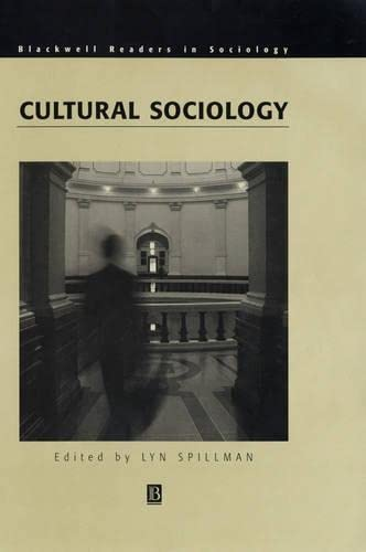 9780631216520: Cultural Sociology (Wiley Blackwell Readers in Sociology)
