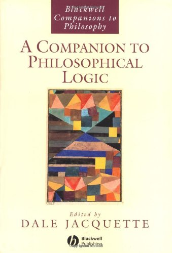 9780631216711: A Companion to Philosophical Logic