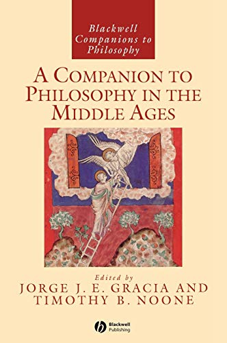 9780631216728: A Companion to Philosophy in the Middle Ages