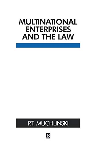 9780631216766: Multinational Enterprises and the Law