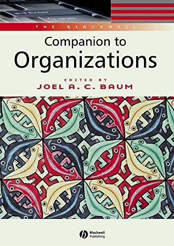 9780631216957: Blackwell Companion to Organizations