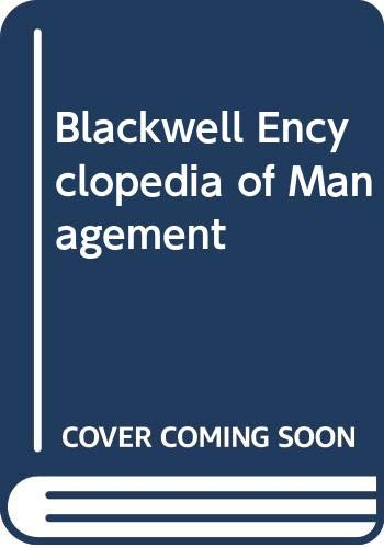 9780631217176: Blackwell Encyclopedia of Management